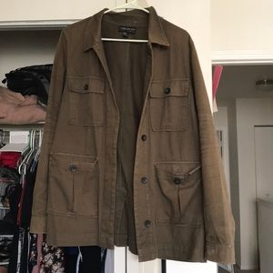 Forever 21 size 0x cotton army green jacket